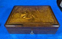 19th Century French Rosewood Jewellery  Box (2 of 11)