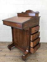 Late Victorian Inlaid Rosewood Davenport Desk (12 of 17)