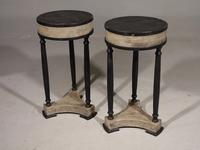 Attractive Pair of Early 20th Century Continental Lamp Tables (4 of 5)