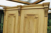 Fabulous & Large Old Pine Double 'Knock Down' Wardrobe - We Deliver! (16 of 18)