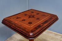 Late Victorian Pitch Pine Tripod Table (5 of 6)