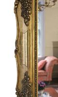 Antique Large Quality 19th Century Gilt Wall Mirror Overmantle (9 of 10)