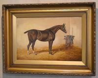 Monarch, Oil Painting of a Horse by William Eddowes Turner (2 of 8)