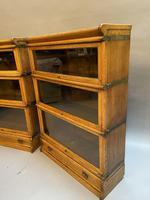 Pair of Globe Wernicke Oak Bookcases (2 of 16)