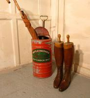 Quirky Umbrella Stand, French Fire Department Pump, Industrial Antiques (3 of 4)
