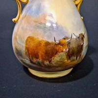 Royal Worcester Flared Vase (2 of 6)