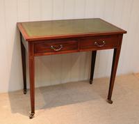 Edwardian Mahogany Writing Desk (2 of 6)