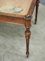 Victorian Inlaid Burr Walnut Games Table (7 of 9)