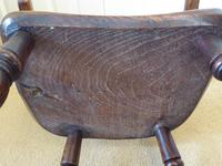 Victorian Ash & Elm Wood Childs Windsor Chair c.1840 (12 of 14)