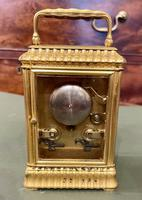Pretty French Carriage Clock (3 of 5)