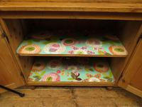 Antique Pine Kitchen Dressser with Glazed Top, Country Dresse. modestly sized (16 of 19)