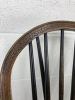 Set of Four 19th Century Ash and Elm Hoop Back Chairs (9 of 13)