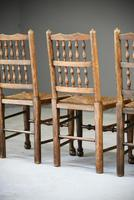 4 Country Spindle Back & Rush Chairs (11 of 11)