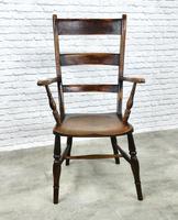 High Back Oxford Windsor Armchair (2 of 7)