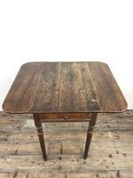 Small Victorian Welsh Oak Pembroke Table (13 of 18)