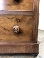 Victorian Mahogany Chest of Three Drawers (14 of 14)