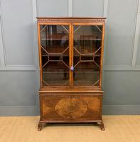 Burr Walnut Bookcase by Jas Shoolbred (3 of 19)