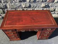 Antique Mahogany Pedestal Desk (10 of 12)