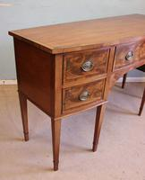 Antique Georgian Style Mahogany Shaped Front Sideboard (7 of 10)