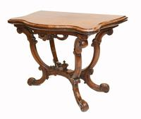 Victorian Card Table Antique Games Tables Rosewood c.1880 (5 of 13)