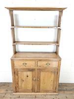 Late 19th Century Pine Kitchen Dresser (2 of 12)