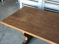 French Farmhouse Trestle Dining Table (11 of 15)