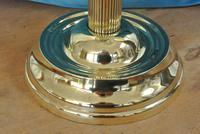 Original Victorian Cut Glass & Brass Oil Lamp - c.1900 Working Order (3 of 7)