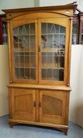 Arts & Crafts Oak Bookcase