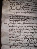 1440 A.D Medieval James ll of Scotland Period Vellum Document (13 of 13)