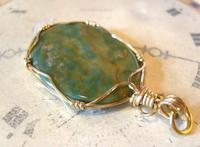 Vintage Pocket Watch Chain Fob 1970s 12ct Gold Plated & Irish Connemara Marble Fob (9 of 10)