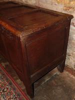 Jacobean Paneled Oak Coffer (4 of 7)