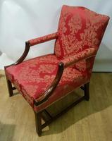 Superb George III Gainsborough Armchair (9 of 9)