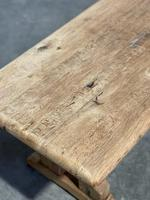 Great Rustic French Bleached Oak Coffee Table (22 of 25)
