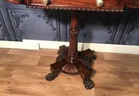 Regency Mahogany Side Table c1820 (8 of 13)