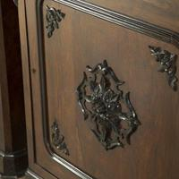 Pair of Spanish Rosewood Pier Cabinets (2 of 4)