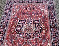 Antique Heriz Carpet 366x228cm (4 of 10)