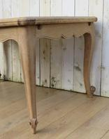 Bleached Oak Draw Leaf Dining Table (6 of 6)