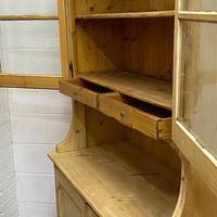 Large Antique Pine Dresser (5 of 5)