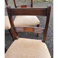 Fine Set of 8 Georgian Mahogany Dining Chairs (7 of 7)