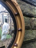 Antique Gilt Framed Convex Mirror (3 of 5)