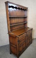 Titchmarsh Goodwin Period Style Carved Solid Oak Dresser (2 of 8)