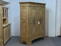 Stunning 19th Century German Pine Wardrobe - Dismantles (4 of 6)