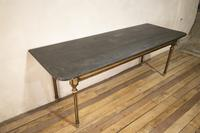 18th Century Faux Quilted Maple Painted Swedish Table (10 of 16)