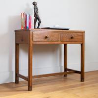 Vintage Mid Century 2 Drawer Oak Desk by Gordon Russell (14 of 14)
