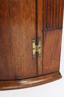 Georgian Oak Bow Front Corner Cupboard (9 of 13)