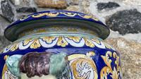 Montagnon French Majolica Jardiniere on Stand (5 of 16)