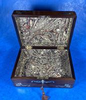 Victorian Jewellery Box with Mother of Pearl Inlay (10 of 13)