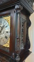 Outstanding Oak Grandfather Clock - William Evans (12 of 13)