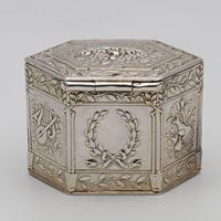 German silver peppermint or snuff box c.1880 (3 of 4)