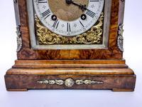 Burr Walnut Mantle Clock (7 of 7)